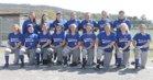 Mountainburg Dragons Girls Varsity Softball Spring 17-18 team photo.