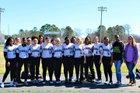 Bearden Bears Girls Varsity Softball Spring 17-18 team photo.