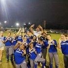 Booker T. Washington Wildcats Girls Varsity Softball Spring 17-18 team photo.