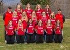 Eastmont Wildcats Girls Varsity Softball Spring 17-18 team photo.