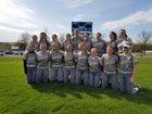 Southside Southerners Girls Varsity Softball Spring 17-18 team photo.
