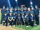 South Spartans Girls Varsity Softball Spring 17-18 team photo.