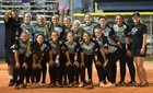 West Brunswick Trojans Girls Varsity Softball Spring 17-18 team photo.