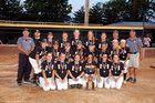 Woodford County Yellowjackets Girls Varsity Softball Spring 17-18 team photo.