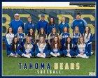 Tahoma Bears Girls Varsity Softball Spring 17-18 team photo.