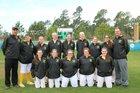 Doddridge County Bulldogs Girls Varsity Softball Spring 17-18 team photo.