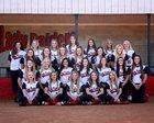 East Carter Raiders Girls Varsity Softball Spring 17-18 team photo.
