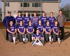 Hanford Falcons Girls Varsity Softball Spring 17-18 team photo.