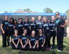 Plymouth South Panthers Girls Varsity Softball Spring 17-18 team photo.