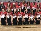 Blevins Hornets Girls Varsity Softball Spring 17-18 team photo.