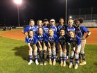 Cypress Creek Cougars Girls Varsity Softball Spring 17-18 team photo.