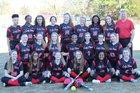 Jacksonville Titans Girls Varsity Softball Spring 17-18 team photo.