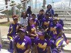 Blount Leopards Girls Varsity Softball Spring 17-18 team photo.