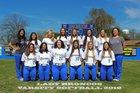 Dos Palos Broncos Girls Varsity Softball Spring 17-18 team photo.