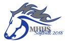 Mountain House Mustangs Girls Varsity Softball Spring 17-18 team photo.