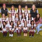 Walden Grove Red Wolves Girls Varsity Softball Spring 17-18 team photo.
