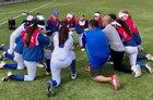 St. Ignatius Wildcats Girls Varsity Softball Spring 17-18 team photo.
