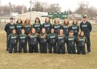 Bremen Lions Girls Varsity Softball Spring 17-18 team photo.