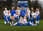 La Center Wildcats Girls Varsity Softball Spring 17-18 team photo.