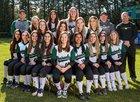 Peninsula Seahawks Girls Varsity Softball Spring 17-18 team photo.