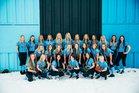 Sky View Bobcats Girls Varsity Softball Spring 17-18 team photo.