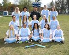 Mt. Rainier Rams Girls Varsity Softball Spring 17-18 team photo.