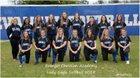 Evangel Christian Academy Eagles Girls Varsity Softball Spring 17-18 team photo.
