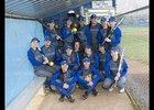 Mountain View Thunder Girls Varsity Softball Spring 17-18 team photo.