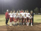 Loving Falcons Girls Varsity Softball Spring 17-18 team photo.