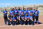 Hot Springs Tigers Girls Varsity Softball Spring 17-18 team photo.