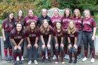 Holy Names Academy  Girls Varsity Softball Spring 17-18 team photo.