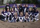 Kamiak Knights Girls Varsity Softball Spring 17-18 team photo.
