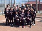 Piggott Mohawks Girls Varsity Softball Spring 17-18 team photo.