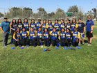 Bright Star Secondary Charter Academy Eagles Girls Varsity Softball Spring 17-18 team photo.