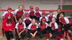 Wooster Colts Girls Varsity Softball Spring 17-18 team photo.