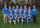 Mercy Tigers Girls Varsity Softball Spring 17-18 team photo.