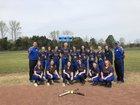 Mt. Vernon-Enola Warhawks Girls Varsity Softball Spring 17-18 team photo.