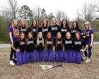 Concord Pirates Girls Varsity Softball Spring 17-18 team photo.