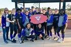 Marianna Bulldogs Girls Varsity Softball Spring 17-18 team photo.