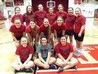Neoga Indians Girls Varsity Softball Spring 17-18 team photo.