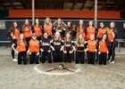 Rainier Mountaineers Girls Varsity Softball Spring 17-18 team photo.