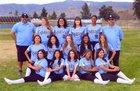San Gorgonio Spartans Girls Varsity Softball Spring 17-18 team photo.