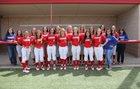 Sundown Roughnecks Girls Varsity Softball Spring 17-18 team photo.