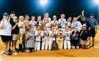 Prattville Christian Academy Panthers Girls Varsity Softball Spring 17-18 team photo.