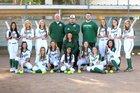 Ontario Christian Knights Girls Varsity Softball Spring 17-18 team photo.