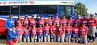 McCurdy Bobcats Girls Varsity Softball Spring 17-18 team photo.