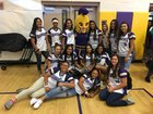 Jurupa Hills Spartans Girls Varsity Softball Spring 17-18 team photo.