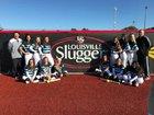 West Port Wolf Pack Girls Varsity Softball Spring 17-18 team photo.