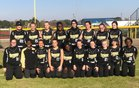 Nettleton Raiders Girls Varsity Softball Spring 17-18 team photo.