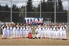 Pe Ell/Willapa Valley  Girls Varsity Softball Spring 17-18 team photo.